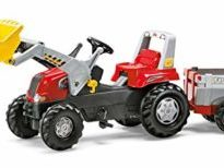 Rolly Red Tractor-Loader & Trailer Junior