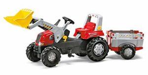 Rolly Red Tractor-Loader & Trailer Junior