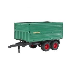 Tipping trailer with removeable top 02010