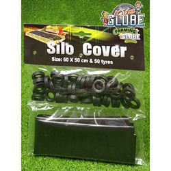 Plastic Silo Cover And 50 Tyres