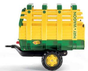 Rolly Hay Wagon - Green Single-Axle