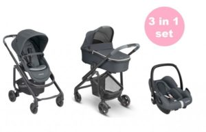 Maxi Cosi Lila SP with Oria Carrycot, Cabriofix and Easyfix Base